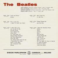 THE BEATLES Please Please Me Vinyl Record 7 Inch Parlophon 2019